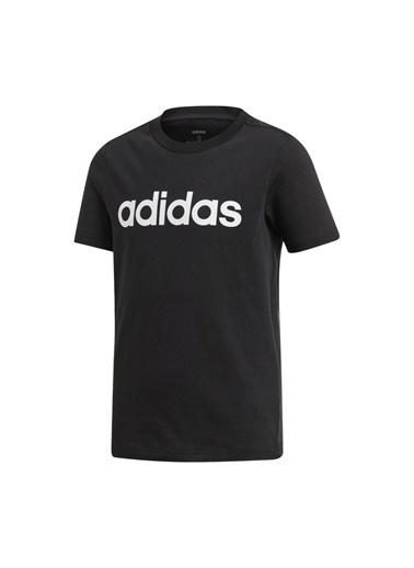 adidas Yb E Lin Tee Erkek Çocuk Kısa Kol T-Shirt Siyah